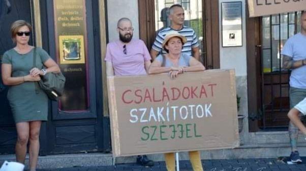 Sopronban mintegy kilencszázan tüntettek