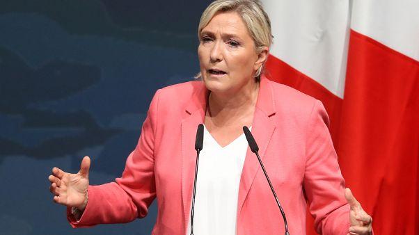 Marine Le Pen à Fréjus le 6 septembre 2020