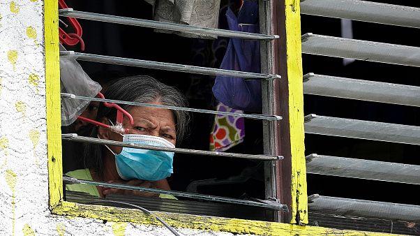 Filipinler'de sosyal medya takibine tepki / Arşiv