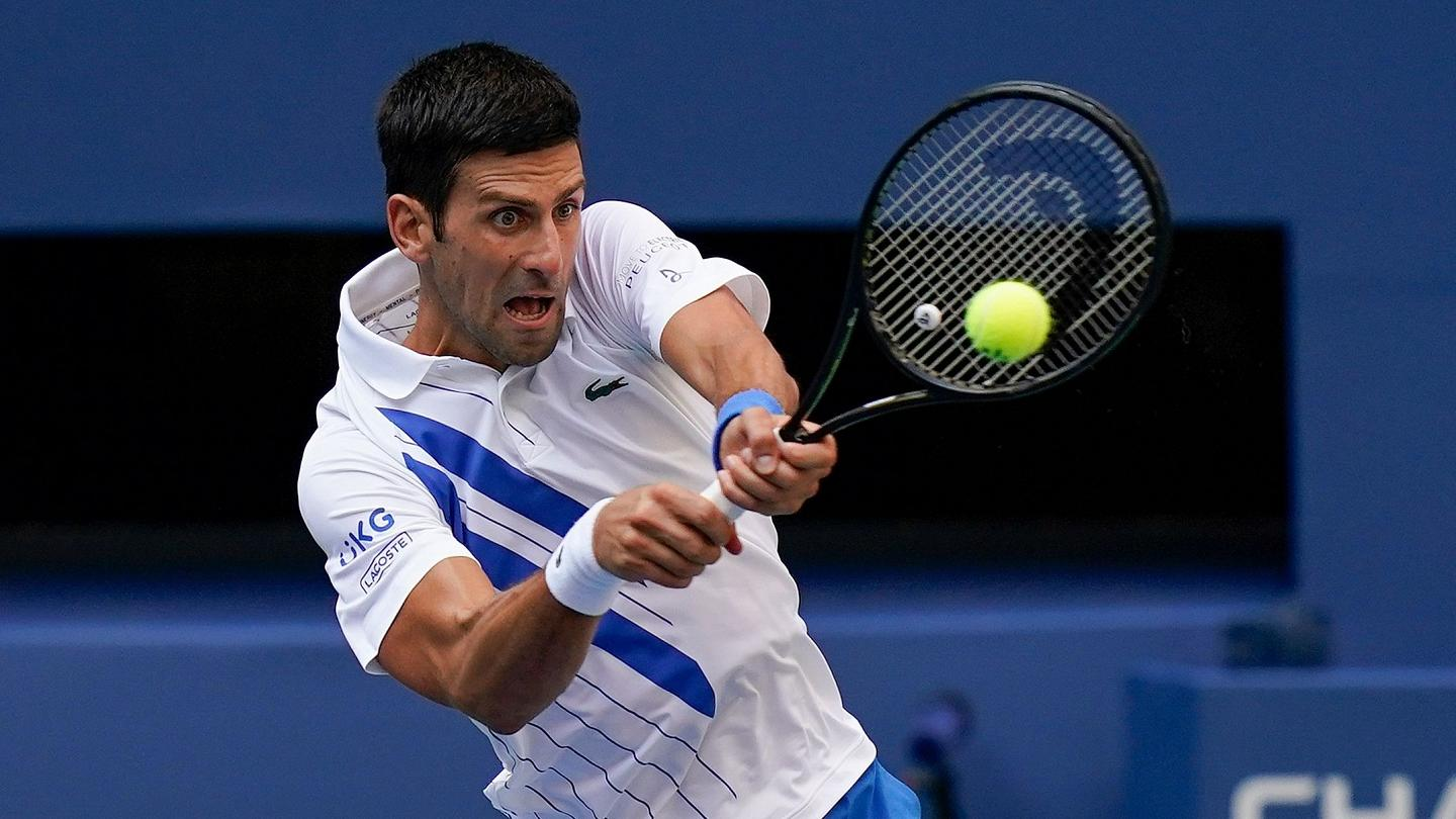 Novak Djokovic Kicked Out Of Us Open After Hitting Line Judge With Ball Euronews