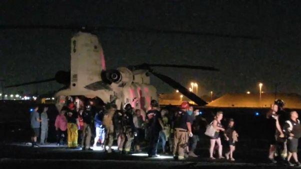 عمليات الإنقاذ في كاليفورنيا