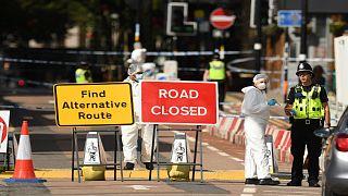 عملية الطعن التي وقعت في مدينة برمنغهام البريطانية