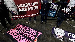 دادگاه رسیدگی به پرونده جولیان آسانژ در بریتانیا آغاز شد