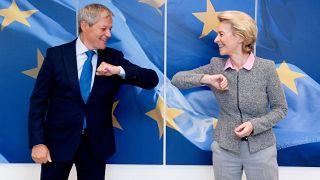 Coronavirus-Wiederaufbau Priorität im EU-Parlament