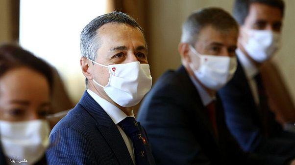 وزیر خارجه سوئیس در تهران