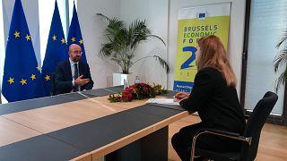 Charles Michel exkluzív interjút adott az Euronewsnak