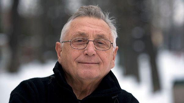 Czech Oscar-winning film director Jiri Menzel
