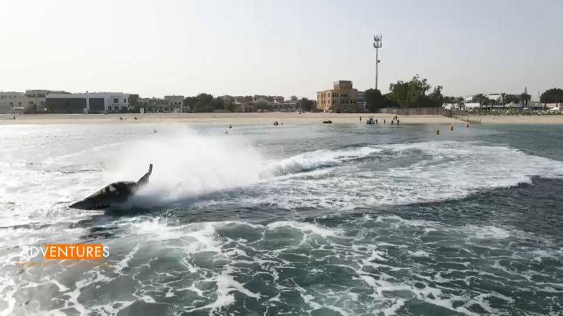 Sortie en Seabreacher à Jumeirah Beach