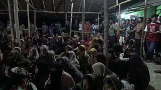 وصول  مهاجرين من الروهينغا إلى إندونيسيا