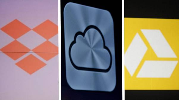 The inquiry is focused on the cloud services Dropbox, Apple's iCloud and Google's Drive.