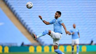 Riyad Mahrez has tested positive for COVID-19, Manchester City said