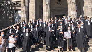 Fransız avukatlar Ebru Timtik için toplandı