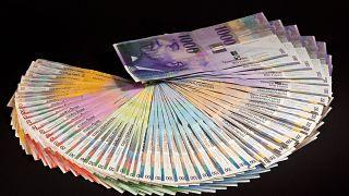 Svájci frank bankjegyek