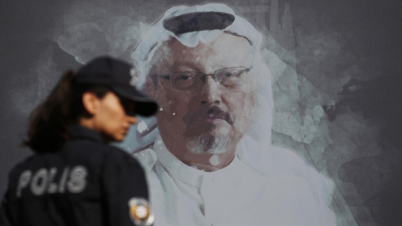 Граффити с изображением журналиста Джамаля Хашогджи