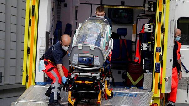 انتقال الکسی ناوالنی به بیمارستان خیریه برلین
