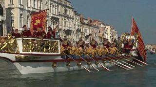 Regata Histórica de Veneza remonta ao século XII