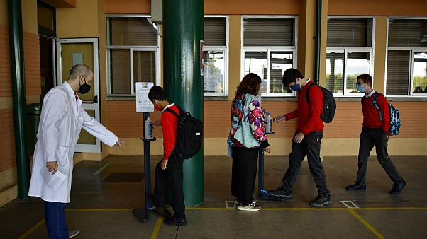 Schulanfang in Spanien - wie hier in Pamplona