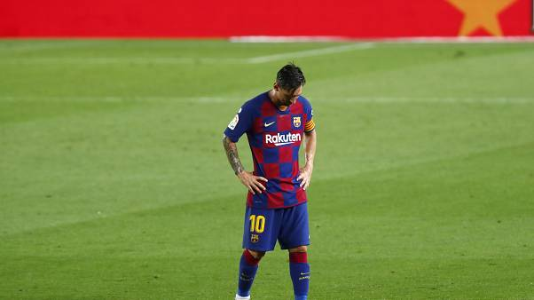 ليونيل ميسي لاعب برشلونة