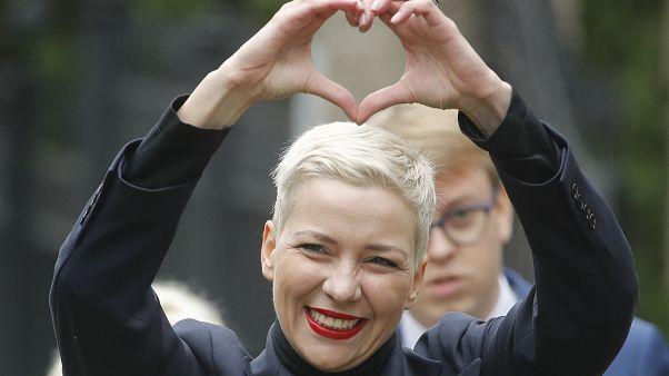 Maria Kolesnikova, 27 août 2020