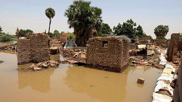 فيضان النيل يهدد عاصمة مملكة مروى الأثرية في السودان