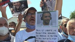 Protests continue in support of journalist Khaled Drareni, as he awaits his verdict today