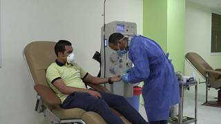 Egypt tries plasma treatment to fight pandemic