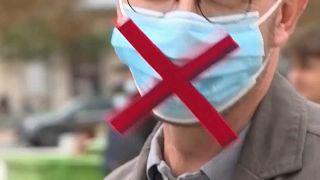 Ευρώπη: Το κίνημα κατά της χρήσης μάσκας
