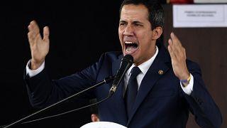 Imagen de archivo del líder opositor Juan Guaidó