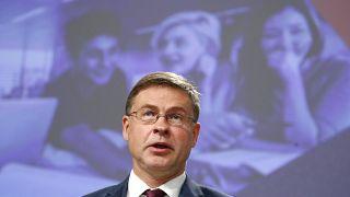 Neuer Handelskommissar: Der ehemalige lettische Regierungschef Dombrovskis