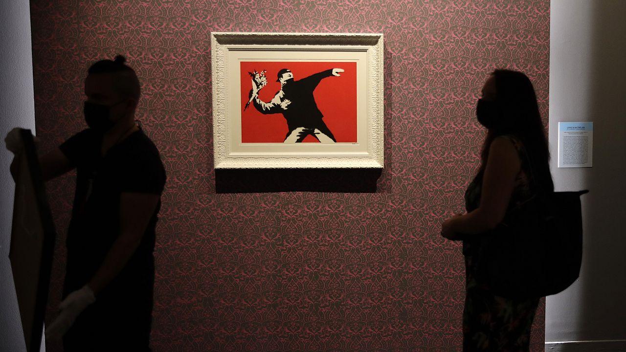 Cita con el arte del cotizado y misterioso Banksy en Roma