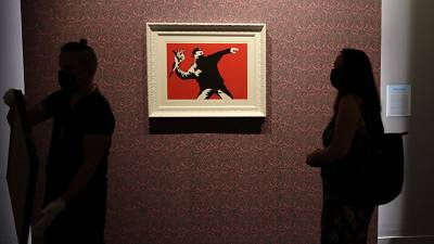 'Banksy: A Visual Protest': New exhibition in Rome looks at early career of iconic street artist