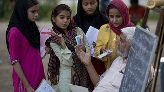 Literacy class in Pakistan