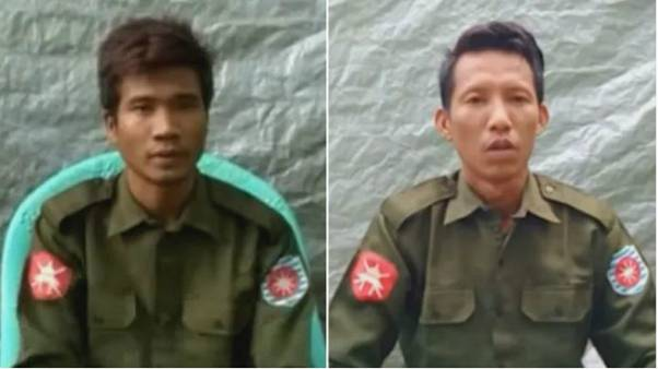 Myanmar ordusundan firar eden iki asker