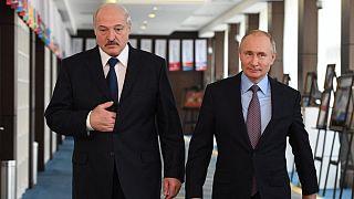 Belarus lideri Alexandr Lukaşenko ve Rusya Devlet Başkanı Vladimir Putin
