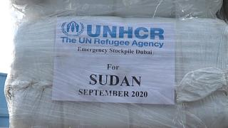 Sudan: the UAE sends 100 tonnes of Flood Relief Goods via the UNHCR