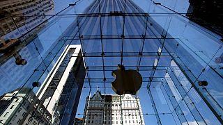 ورودی فروشگاه شرکت اپل