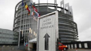 Η είσοδος του Ευρωπαϊκού Κοινοβουλίου