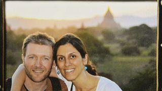 Richard Ratcliffe con la moglie Nazanin Zaghari-Ratcliffe