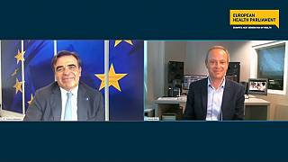 Margaritis Schinas spoke to Euronews during the final plenary of the 5th European Health Parliament.