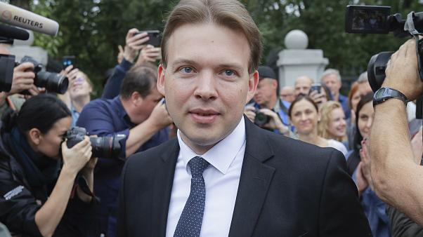 Lawyer Maxim Znak was a leading member of the opposition's Coordination Council.