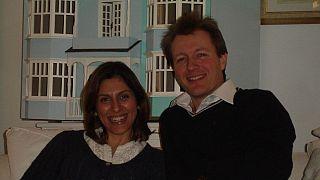 نازنین زاغری رتکلیف و همسرش ریچارد رتکلیف