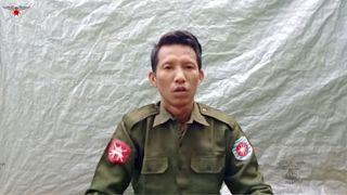 Myo Win Tun, déserteur de l'armée birmane.