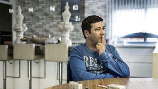 ژیلبر شیکلی در خانه شخصی در اشدود اسرائیل