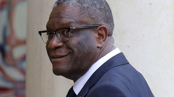 Nobel Barış Ödülü sahibi Kongolu Dr. Denis Mukwege