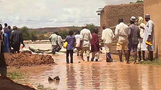 Niger : Inondations exceptionnelles causées par des pluies torrentielles