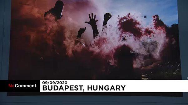 Egy kép a sok közül a Magyar Sajtófotó Kiállításon
