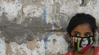 Mädchen im Gazastreifen.