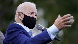 Joe Biden bei einer Wahlkampfveranstaltung