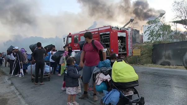 Újabb tűz a Moria menekülttáborban
