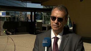 Ville Itälä, az OLAF igazgatója az Euronewsnak nyilatkozik